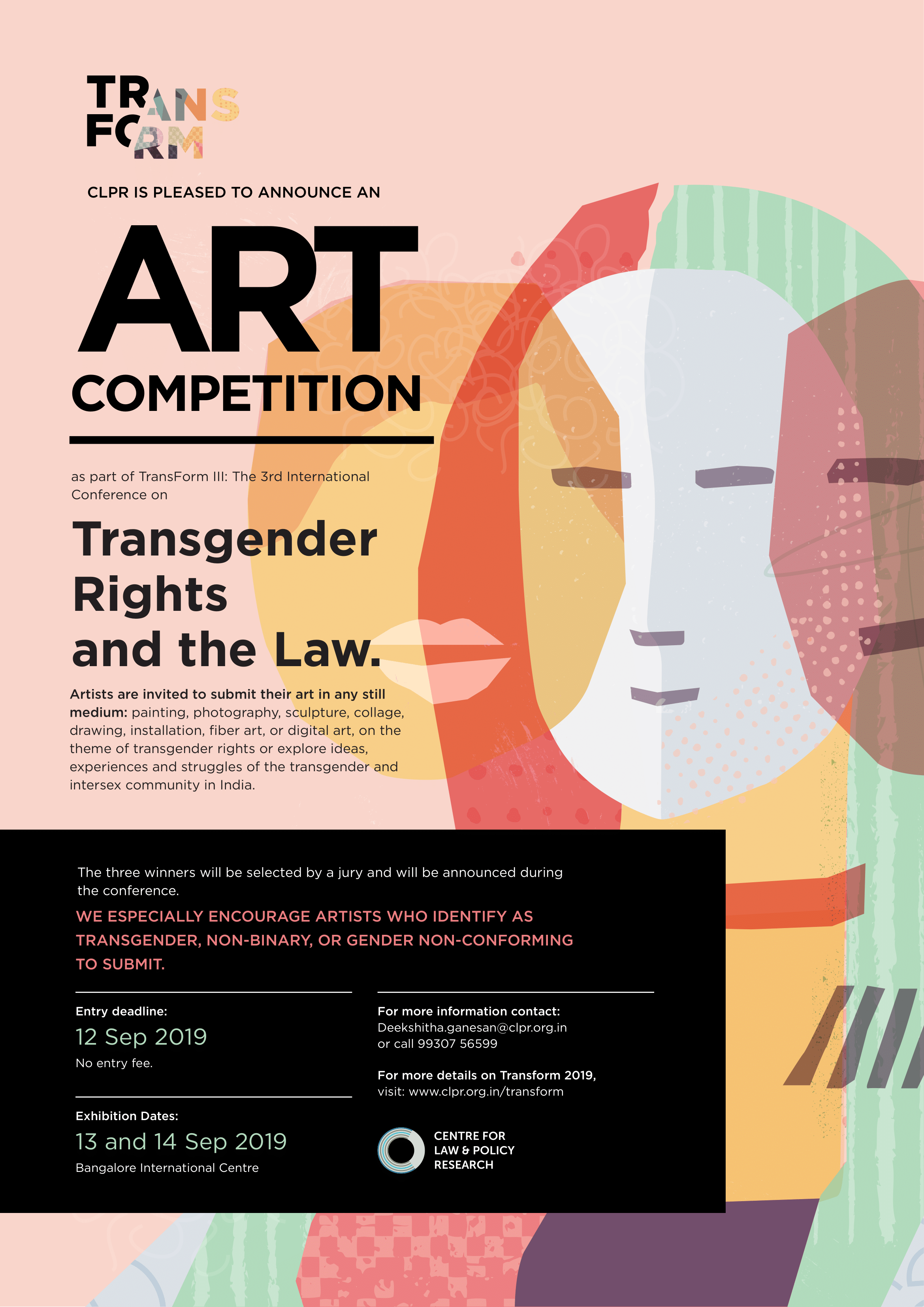 Art Competition Transform 2019 Submissions Closed