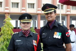 Women Army Officers in Bhopal